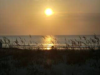 St. Augustine Beach house photo - Direct Oceanfront, wake up to this beautiful sunrise over the ocean every day!