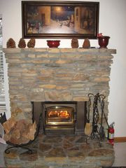 Mammoth Lakes condo photo - Sit by the Warm fire.