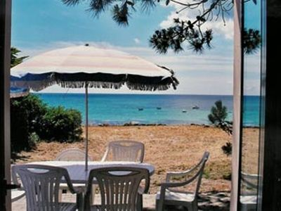 Holiday home overlooking the beach of Kerfriant, stunning sea views