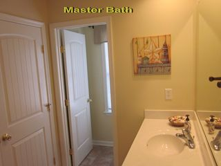 Captains View Villas townhome photo - Master bathroom with separate room for stall