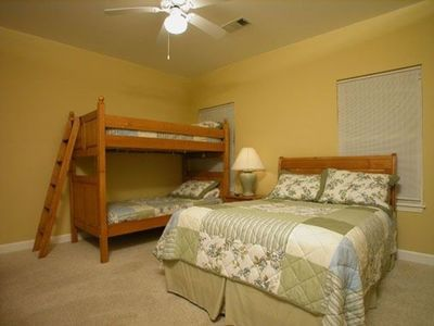 Guest Bedroom 3 - Double and Bunk Beds