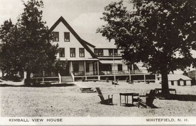 Whitefield farmhouse rental - Kimball View House circa 1830