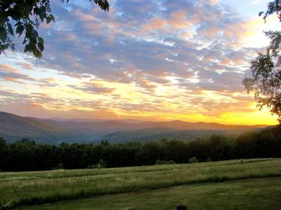 Wide Open Mountain and Valley Views, Beautiful Sunsets, Scenic Southern Vermont