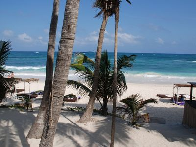 Beautiful beaches. Enjoy the local culture of Tulum.