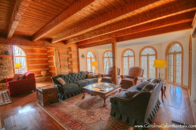 Spacious 5 Bedroom Mountain Lodge Grandfather Mountain Views Big Amenities 5 Br Vacation
