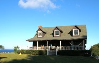 Claybank Township cottage photo - Log Home