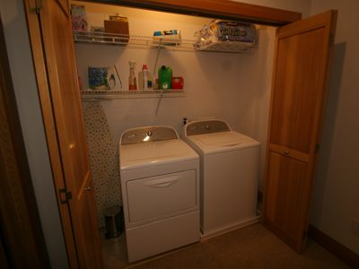Washer and Dryer in Separate Laundry Closet