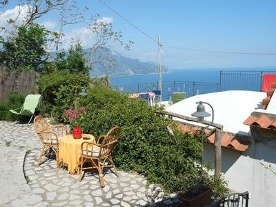 Delightful country cottage of 1. 700, typical of the Amalfi Coast.