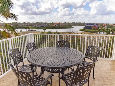 Take in the gorgeous water views from our balcony - Raise a glass to your fabulous Florida vacation! Our sunny, spacious balcony invites you to just sit back and relax.