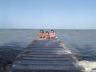 Ambergris Caye house photo - My guests are enjoying the wonderful Pier in front of Nirvana San Pedro.