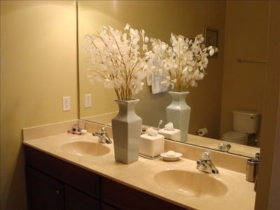 MBR Bath with double sinks