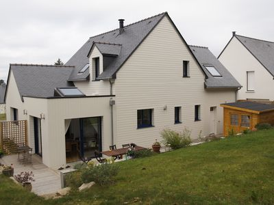 Wooden new house, 800 m from the Gulf of Morbihan