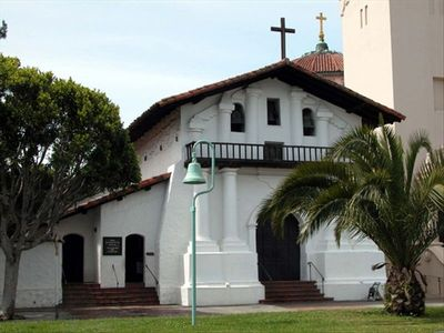 The original Mission Dolores ~ one block away from Mission Manor.