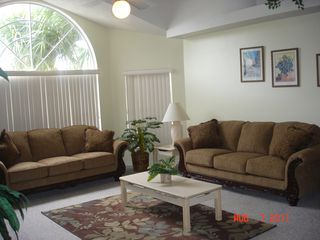 Living Room - Kissimmee condo vacation rental photo