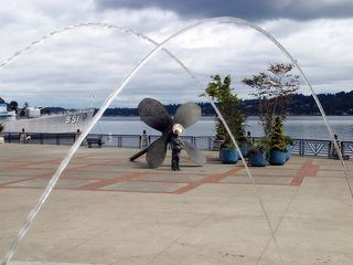 Bremerton apartment photo - Bremerton Boardwalk Fountain