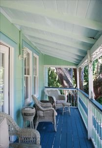 Upstairs Porch