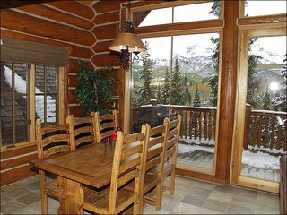 Mountain Village house photo - Dining Room seats 8 plus Bar Seating of 3