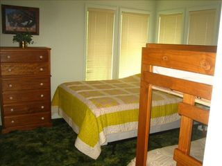 Lancaster house photo - Bedroom with queen & bunk beds