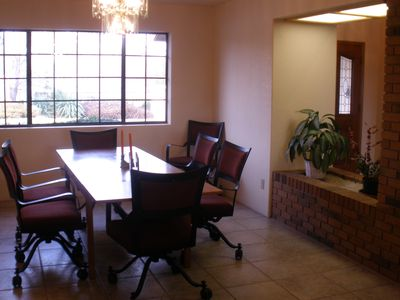 Sedona house rental - Dining Room