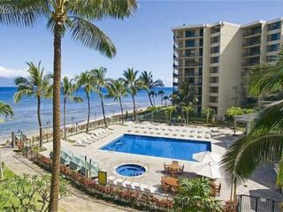 Lahaina condo photo - Beach Front Pool & Spa