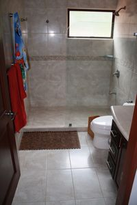Punta Leona condo rental - Two secondary bathrooms like this