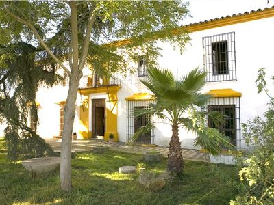 Andalusian farmhouse in natural park