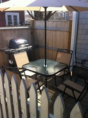 Provincetown condo photo - Patio area