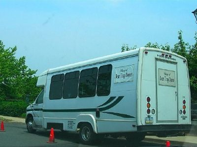 Private Air-Conditioned Beach Shuttles Run from Resort to Beach & Back