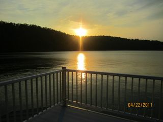 Jacksboro house photo - Spectacular Sunset Form Dock!