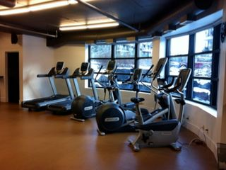 Canmore condo photo - Cardio machines in the fully equipped Gym