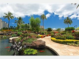 Kapolei villa photo - Gounds with Koi Pond