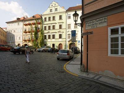 Vlasska streets leads you up to the Petrin park
