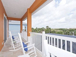 Palm Coast house photo - Enjoy sunsets & ocean breeze from our 2nd floor balcony