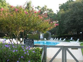 Sea Pines condo photo - Private Pool on Site for owners and guests