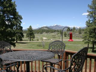 Pagosa Springs house photo - View from Upper Deck