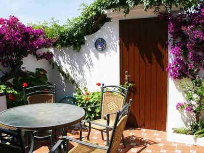 Estepona Coast - New Golden Mile apartment rental - Private Patio with BBQ