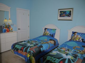Twin Bedroom Three - Toy Story being a part of it!
