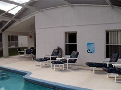 Relax and Enjoy your vacation in our home - new pool cushions in 2010