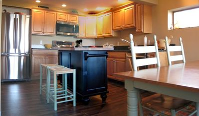 Updated kitchen with new stainless appliances and granite countertops!