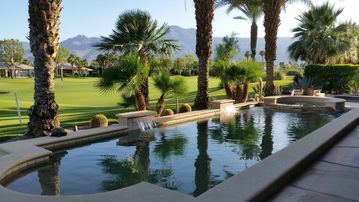 La Quinta house rental - On the golf course - Private Pool - Spa- Cascading waterfall with 2 spillovers