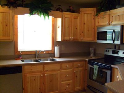 Fully Equipped Kitchen for Cooking and Serving