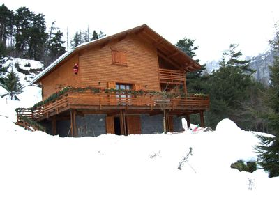 Large newly built cottage tt comfort with open view on the mountains
