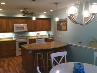 Siesta Key townhome rental - Lots of space in kitchen for cooking and entertaining.