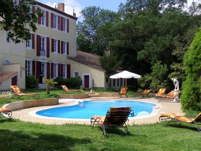 Labastide-d'Anjou chateau / country house rental
