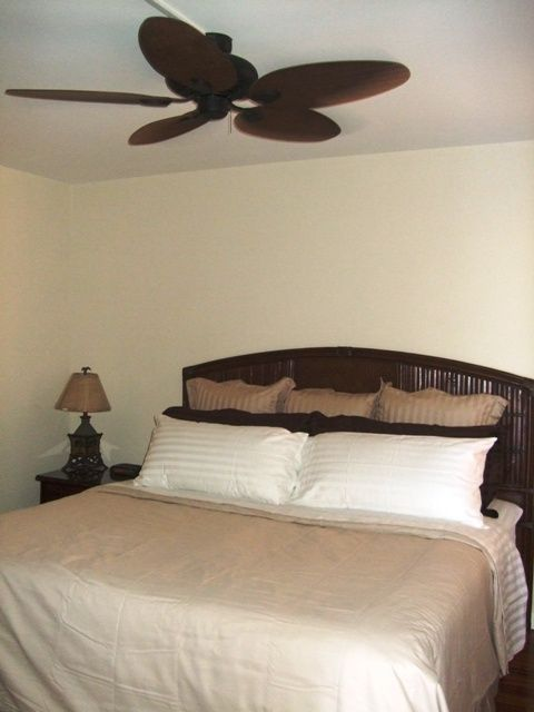 Master King - Bedroom AC Unit - Large Ceiling Fan - 600 Thread Linen