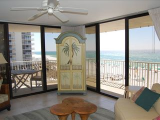 Mainsail Resort condo photo - Living Area, looking to Gulf
