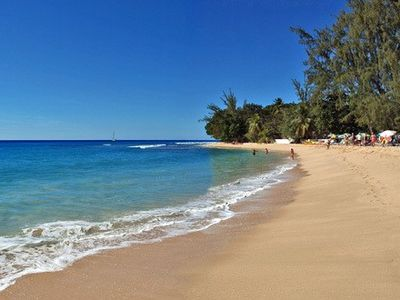 Superb beach for walking, swimming, snorkelling