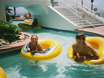 Kids & adults love our 300 ft lazy river