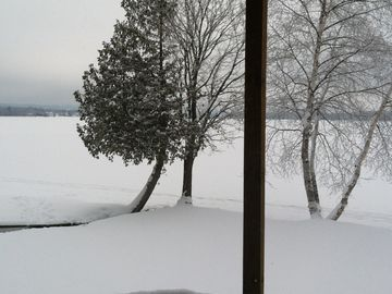 Lake view in December