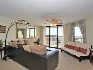 Sectional Sofa & Futon Perfect for extra guests - Folly Beach condo vacation rental photo